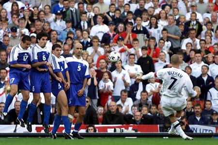 2001 - Beckham