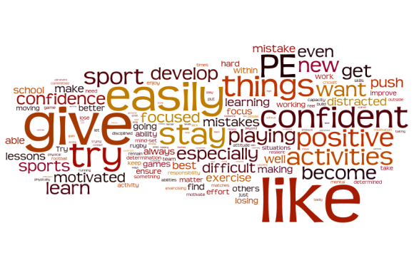 Wordle of Affective Targets